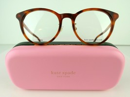 Kate Spade DRYSTALEE/F (5X7) Light Havana 50-19-145 Eyeglass Frames - $75.95