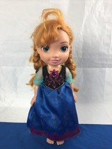 Anna Singing Sisters Toddler Doll Frozen Interactive Disney Jakks Pacific - $11.87