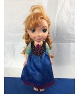 Anna Singing Sisters Toddler Doll Frozen Interactive Disney Jakks Pacific - $11.87