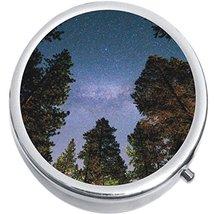 Stars Tree Medicine Vitamin Compact Pill Box - $9.78
