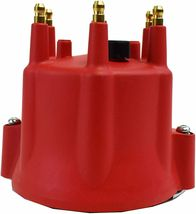Red Pro Series Distributor Cap, Rotor Kit 6-Cylinder Male image 8