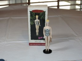 HALLMARK Keepsake Ornament 1994 Barbie Debut 1959 New Collectors Series - $11.87