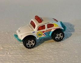 2000 Matchbox Toy Diecast Mattel 1:57 Beetle Chief 4 X 4 China White, Blue, Oran - $3.99