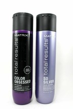 Matrix Total Results So Silver Color Obsessed Shampoo & Conditioner 10.1oz Duo - $29.69