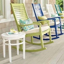 Solid Hardwood Traditional Outdoor Rocking Chair Porch Rocker 11 Colors RG - $274.49