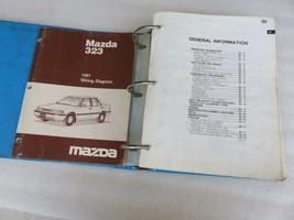 1991 Mazda 323 Protege Service Repair Manual OEM Factory Dealership Workshop Set - $21.70