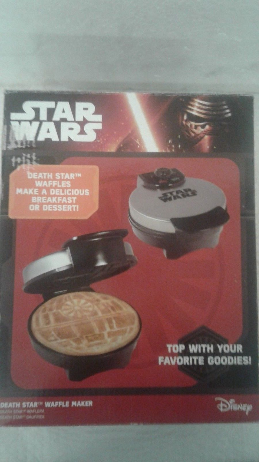 pangea brands star wars death star waffle and 50 similar items. Black Bedroom Furniture Sets. Home Design Ideas