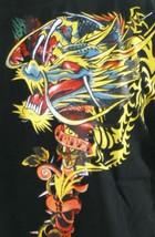 Kanji Premium Brand Mens Black Dragon Tattoo Art Long Sleeve T-Shirt L XL NWT image 2