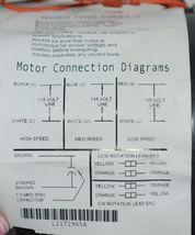 US Motors 1864 Direct Drive Blower K055WMG1245012B Boxed image 4