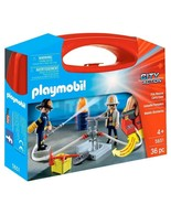 Playmobil - City Action Fire Rescue Carry Case #5651, 36 Pieces -  NEW!! - $14.36