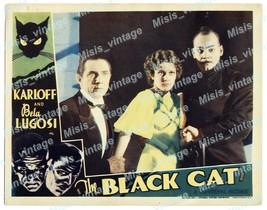 The Black Cat 1934 Vintage Movie Poster Reprint 8 - $5.95+