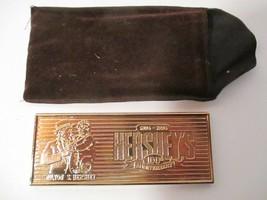 Gold METAL Hershey Bar Collectible 100th Anniversary (Milton S. Hershey) - $10.88