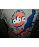 Gray Asian Basketball Federation Clinic Tshirt Adult S Fila Very Nice Te... - $28.70