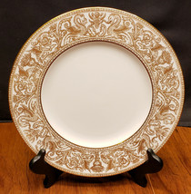 Wedgwood Florentine Gold W4219 Dinner Plate Dragons Beautiful - $42.99