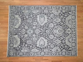 "7'9""x10' HandKnotted Oushak Influence Silk with Oxidized Wool Rug G41322 - $2,753.73"