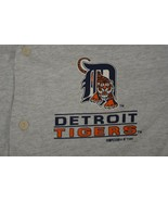 1993 Detroit Tigers Competitor Large New Logo Made in USA Jersey Pullove... - $37.36