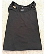 Ladies Adidas Black Workout Climalite Tank Top With Racerback (Size S) - $14.03