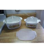 Vintage Corningware casserole dishes - $33.20