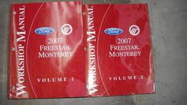2007 Ford Freestar & Mercury Monterey Van Reparatur Service Shop Manuell... - $13.19