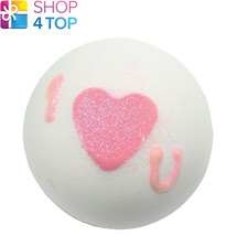 Heart That Glitters Bath Blaster Cotton Patchouli Handmade Bomb Cosmetics New - $5.83