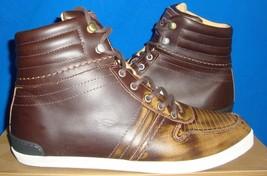 UGG  EMPIRE Men's Chestnut Leather Sneakers Size US 9,EU 42 EM-PIRE NIB ... - $73.21