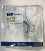 Medium Fisher Paykel Eson 2 Nasal Cpap Mask System ESN2MA with Headgear  - $91.00