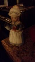Vintage Dutch Girl  Porcelain Sewing Pin Cushion Doll Figurine - $32.73