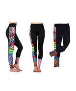 New JORDANA Black Peace & Love Skinny leggings Print Floral size XS S M L - $27.98