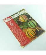 Helps for the Holiday Season Family Circle Vintage Magazine 1963 - $33.99