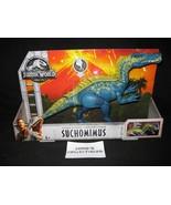 Jurassic World fallen kingdom suchomimus figure Mattel wave 2 chomp atta... - $69.72