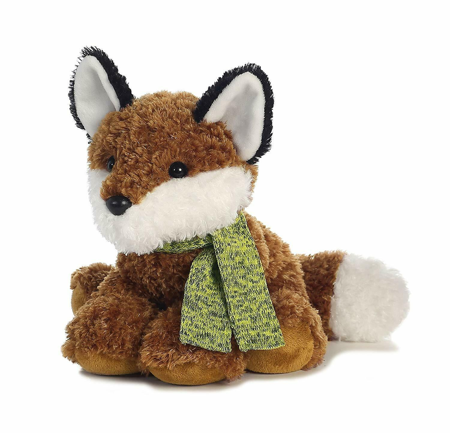 "Primary image for Aurora World Frosty Friends Raccoon Plush, Fox, 12"". NWT. Soft Plush Toy."