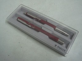 Antique lot of two PARKER  Ballpoint Pen's with original box made in UK - $23.03