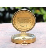 Marine Working Tabletop Compass Vintage American Boy Scouts Compass Deco... - $195.02