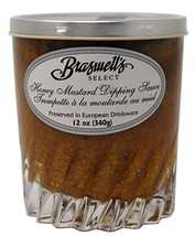 Braswell's Select Honey Mustard Dipping Sauce - 12 ounces in European Drinkware