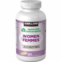 Kirkland Signature WOMEN Multivitamin,365 Tablets FRESH FROM CANADA - $28.70