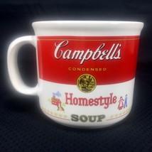 Campbells Soup Coffee Tea Mug 16 oz Homestyle Can Label 1989 Westwood Vintage - $7.99