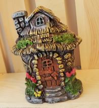 """Fairy Garden Forest Figurine, Fairy House, resin miniature, 4"""""""