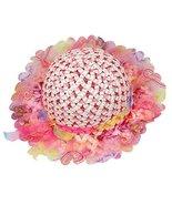 Gentle Meow Summer Girl Sun Hat Beach Hat Straw Hat Wide Brim Visor Hat ... - $12.66