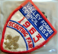 1963 Valley Forge Council Scouting Fair Patch - $9.18