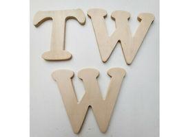 """Wood Pine 3.5"""" x 4"""" Alphabet Letters (See Description) image 3"""