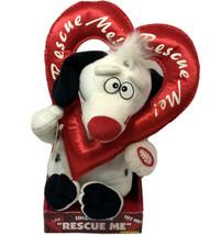 DanDee Animated Plush Dalmatian Dog Singing Rescue Me Valentine Valentin... - $28.04