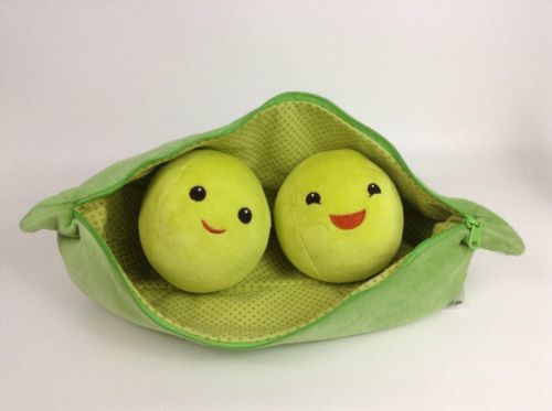 Toy Story 3-19 Official Disney Merchandise Giant Peas-in-a-Pod Plush