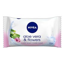 Nivea Bar Soap: Aloe Vera & Flowers - 90 G Free Shipping - $5.89