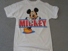 Mickey Mouse on a Small (S) New White tee shirt  - $18.00
