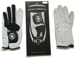 Tour Cabretta Leather Golf Glove Men, All Sizes Available - $6.49