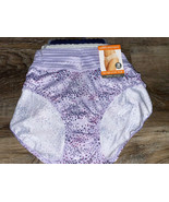 Warners~ 3-Pair Womens No Muffin Top Polyester Hipster Underwear Panties... - $23.36