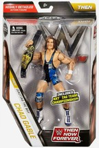 WWE Elite Collection Then Now Forever Chad Gable Action Figure (with NXT... - $21.77