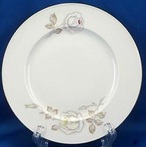 """Johann Haviland Sweetheart Rose Bread and Buttter Plate 6"""" Pink Yellow R... - $8.91"""