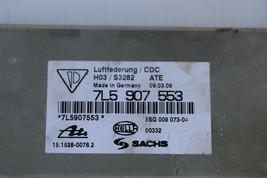 Porsche Cayenne 955 957 Air Ride Active Suspension Control Module Unit 7L5907553 image 2