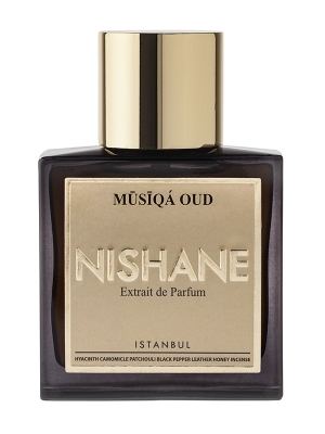 MUSIQA OUD by NISHANE 5ml Travel Spray AMYRIS SAFFRON GAIAC Perfume Istanbul